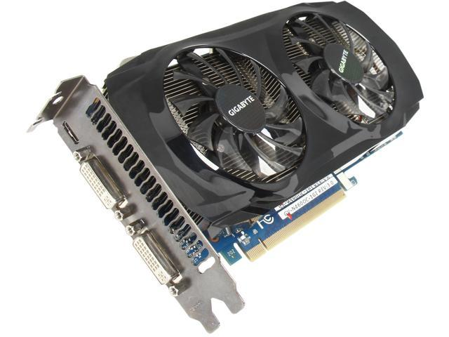 GIGABYTE GeForce GTX 460 (Fermi) DirectX 11 GV-N460OC-1GI 1GB 256-Bit GDDR5 PCI Express 2.0 x16 HDCP Ready SLI Support Video Card