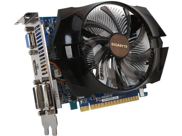 GIGABYTE GV-N650OC-1GI GeForce GTX 650 1GB 128-Bit GDDR5 PCI Express 3.0 x16 HDCP Ready Video Card Manufactured Recertified