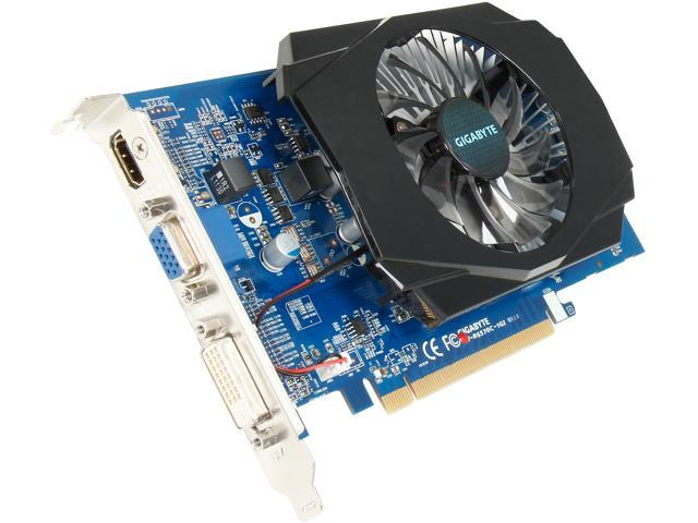 GIGABYTE Radeon HD 6570 DirectX 11 GV-R657OC-1GI 1GB 128-Bit DDR3 PCI Express 2.1 x16 HDCP Ready Video Card