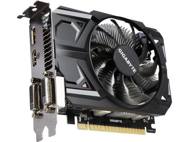 GIGABYTE Radeon R7 360 DirectX 12 GV-R736OC-2GD 2GB 128-Bit GDDR5 PCI Express 3.0 HDCP Ready ATX Video Card