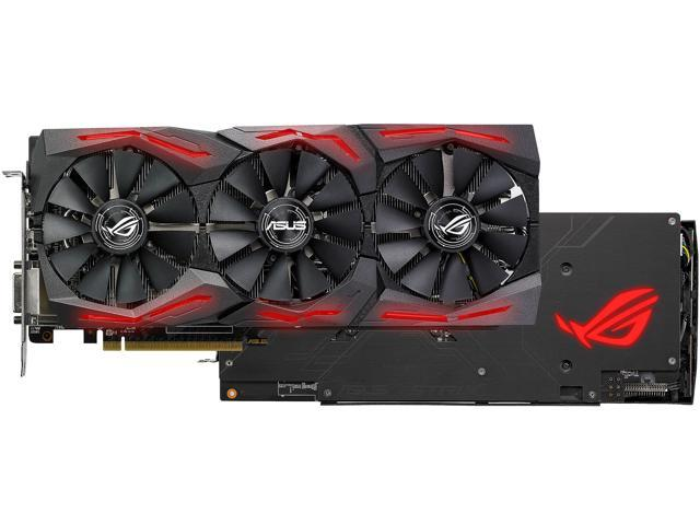 ASUS ROG Strix Radeon RX 580 O8G Graphics Card Bundle