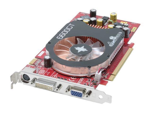 MSI GeForce 6600GT DirectX 9 NX6600GT-TD128E Video Card
