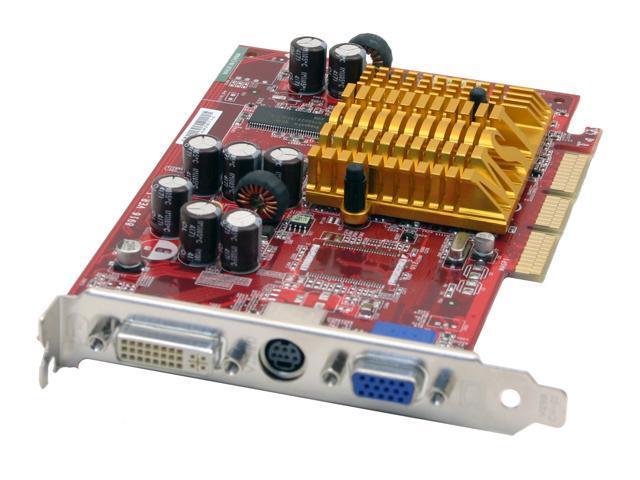 MSI Radeon 9250 DirectX 8 RX9250-TD128 128MB 128-Bit DDR AGP 4X/8X Video Card