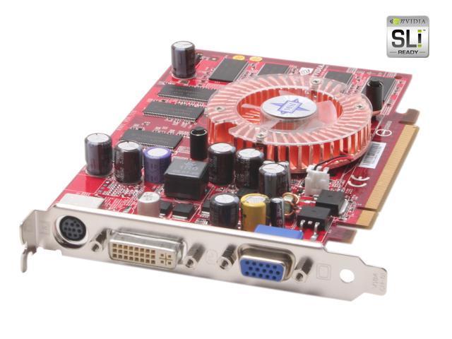 MSI GeForce 6600 DirectX 9 NX6600-TD128E Lite 128MB 128-Bit DDR PCI Express x16 Video Card