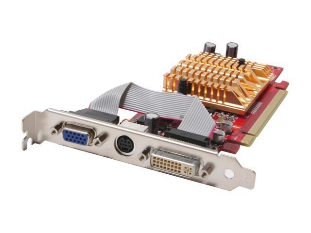 MSI Radeon X300SE HyperMemory DirectX 9 RX300HM-TD128ELF 256MB Hyper Memory(128M VRAM on board) 64-Bit GDDR2 PCI Express x16 Video Card