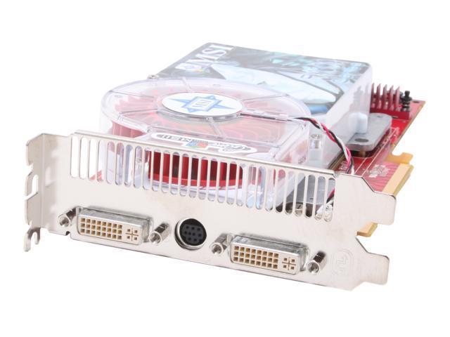 MSI Radeon X1800XT DirectX 9 RX1800XT-VT2D512E 512MB 256-Bit GDDR3 PCI Express x16 Video Card