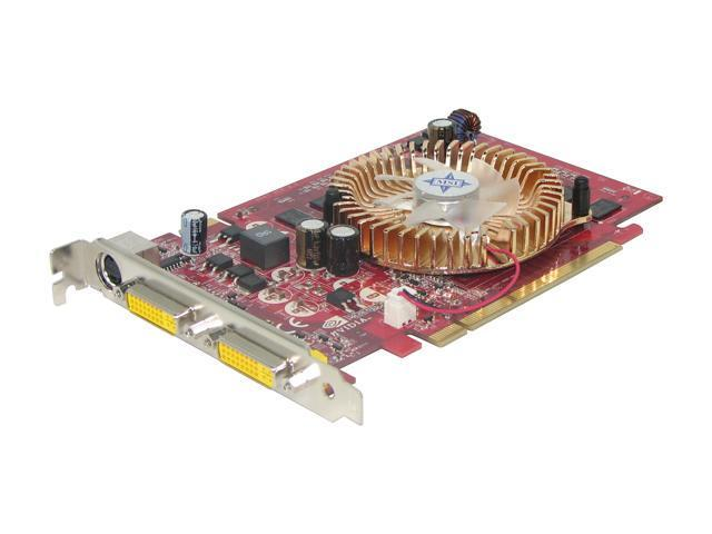 MSI GeForce 7600GS DirectX 9 NX7600GS-T2D256E Video Card