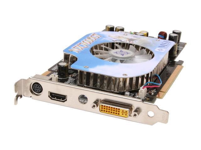 MSI GeForce 7600GT DirectX 9 NX7600GT Diamond Plus HDMI HDCP VIVO Video Card