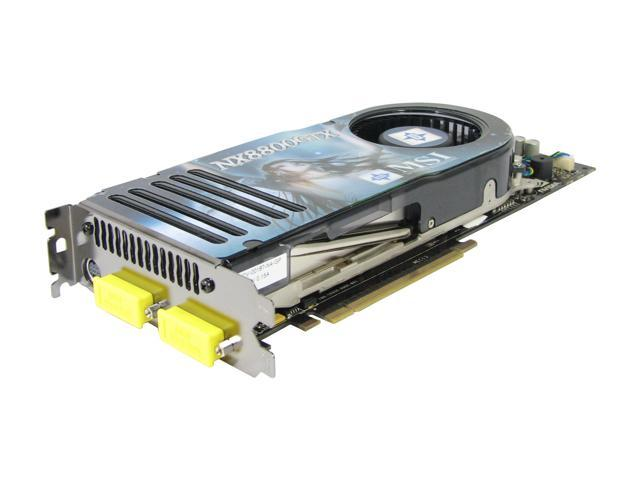 MSI GeForce 8800 GTX DirectX 10 NX8800GTX-T2D768E-HD OC Video Card