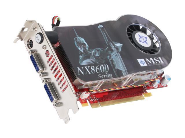 MSI GeForce 8600 GT DirectX 10 NX8600GT Twin Turbo Video Card