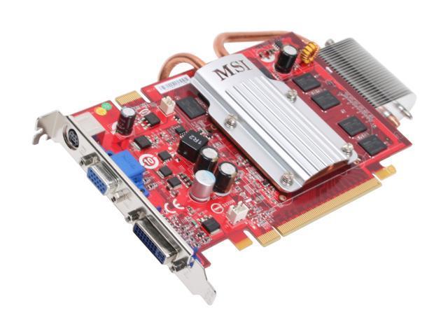 MSI GeForce 8600 GT DirectX 10 NX8600GT-TD512EZ 512MB 128-Bit GDDR2 PCI Express x16 HDCP Ready SLI Support Video Card