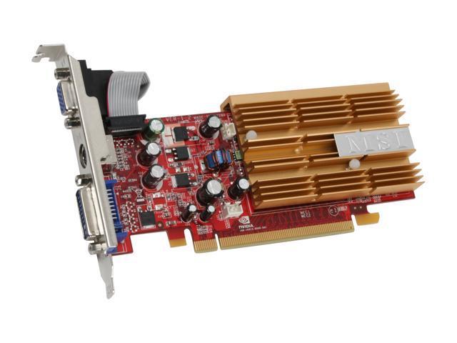 MSI GeForce 8400 GS DirectX 10 NX8400GS-TD256EH Video Card