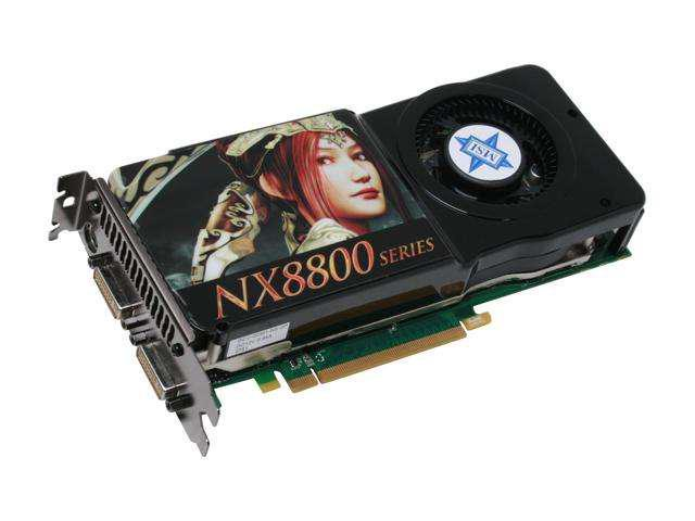MSI GeForce 8800GTS (G92) DirectX 10 NX8800GTS 512M OC 512MB 256-Bit GDDR3 PCI Express 2.0 x16 HDCP Ready SLI Support Video Card