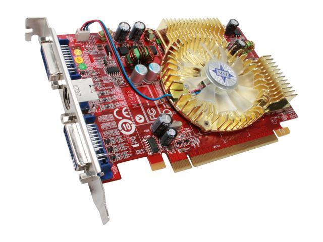 MSI Radeon HD 2600PRO DirectX 10 RX2600Pro-T2D256E 256MB 128-Bit GDDR2 PCI Express x16 HDCP Ready Video Card