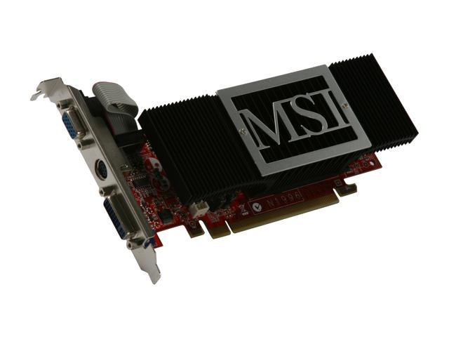 MSI GeForce 8400 GS DirectX 10 NX8400GS-TD512EH Video Card