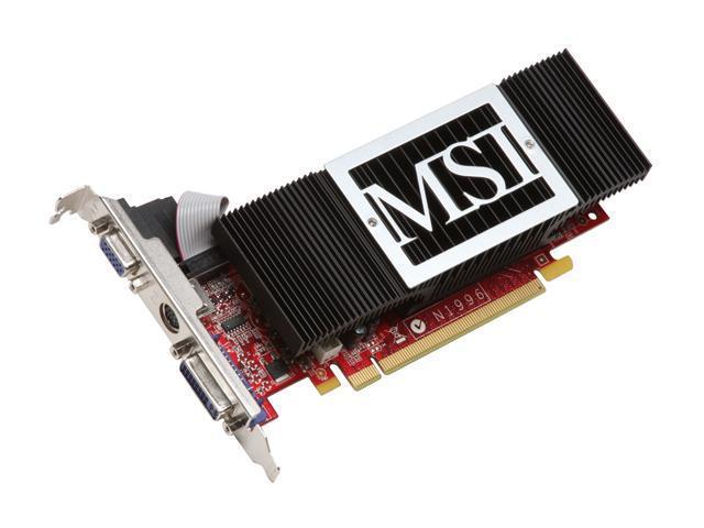 MSI GeForce 8400 GS DirectX 10 NX8400GS-TD256H Video Card