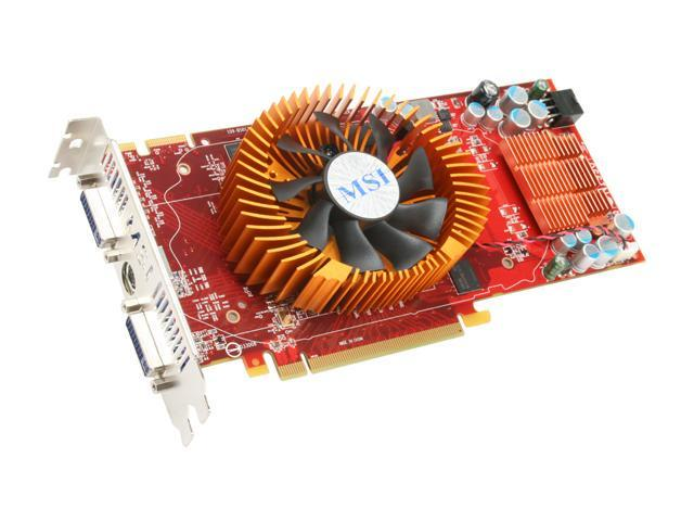 MSI Radeon HD 4850 DirectX 10.1 R4850-T2D512 Video Card