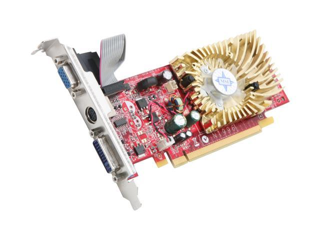 MSI GeForce 8400 GS DirectX 10 N8400GS-TD512 Video Card