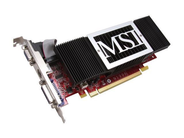 MSI GeForce 8400 GS DirectX 10 N8400GS-TD256H Video Card