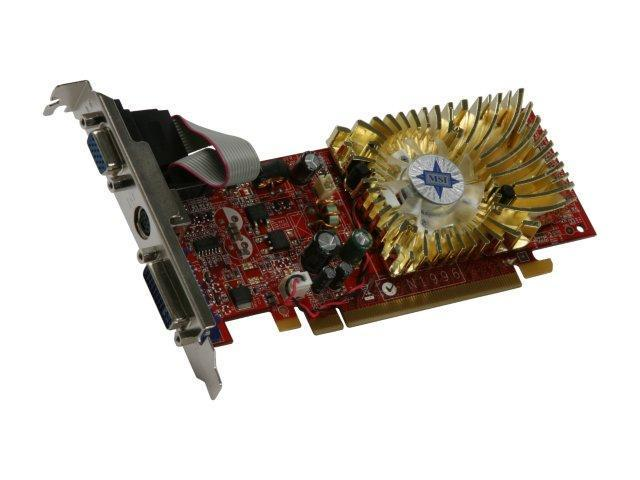 MSI GeForce 8400 GS DirectX 10 N8400GS-TD256 Video Card
