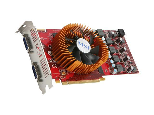 MSI Radeon HD 4850 DirectX 10.1 R4850-2D512-OC Video Card