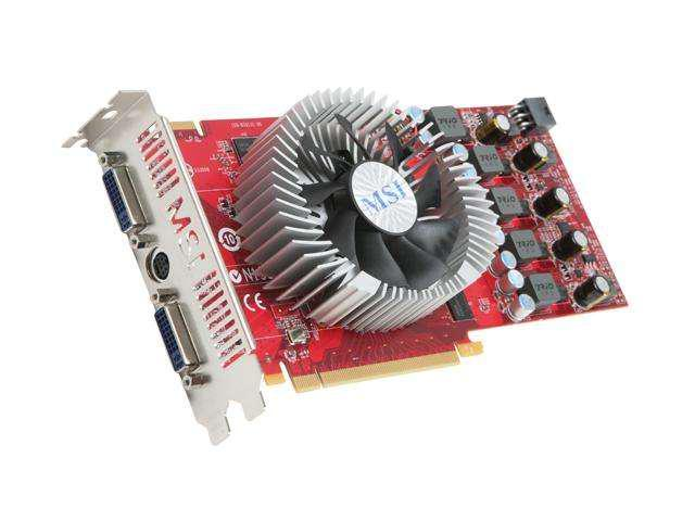 MSI Radeon HD 4830 DirectX 10.1 R4830-T2D512 512MB 256-Bit GDDR3 PCI Express 2.0 x16 HDCP Ready Video Card