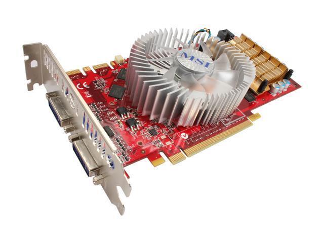 MSI GeForce GTS 250 N250GTS-2D512-OC Video Card