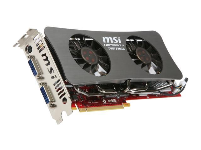 MSI GeForce GTX 275 N275GTX TwinFrozr OC Video Card