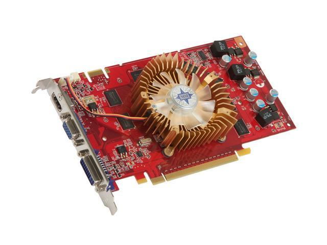 MSI GeForce 9600 GT DirectX 10 N9600GT-MD1G 1GB 256-Bit GDDR3 PCI Express 2.0 x16 HDCP Ready SLI Support Video Card