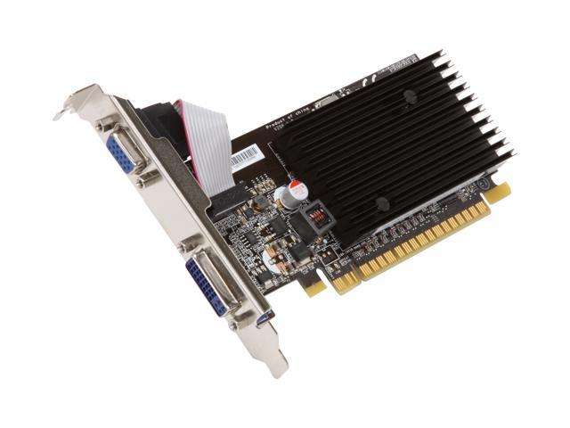 MSI GeForce 8400 GS DirectX 10 N8400GS-D256H 256MB 64-Bit GDDR2 PCI Express 2.0 x16 HDCP Ready Low Profile Ready Video Card