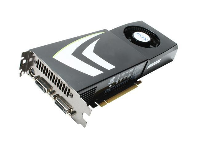 MSI GeForce GTX 260 DirectX 10 N260GTX-T2D896-OC Video Card
