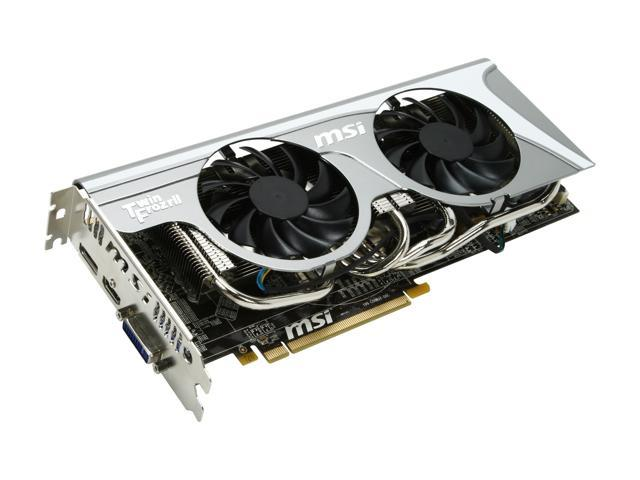 MSI Radeon HD 5830 DirectX 11 R5830 Twin Frozr II Video Card w/ Eyefinity