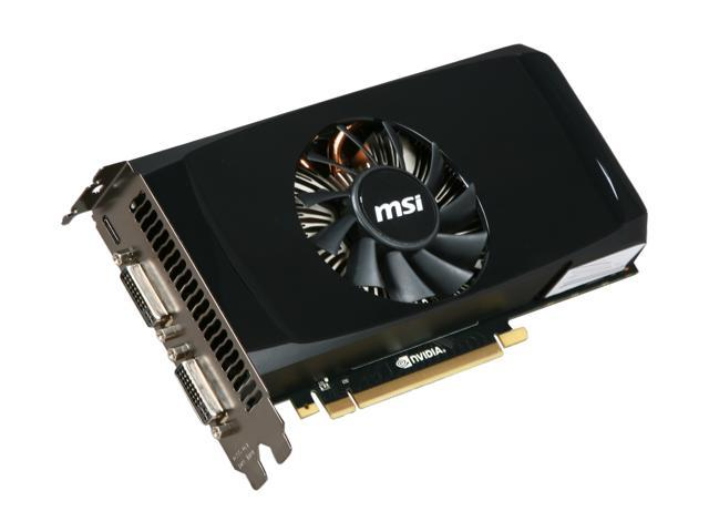 MSI GeForce GTX 460 (Fermi) DirectX 11 N460GTX-M2D768D5 Video Card