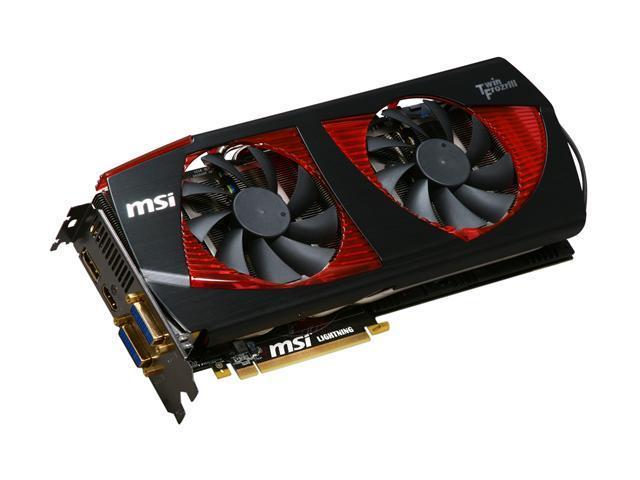 MSI GeForce GTX 480 (Fermi) DirectX 11 N480GTX Lightning Video Card