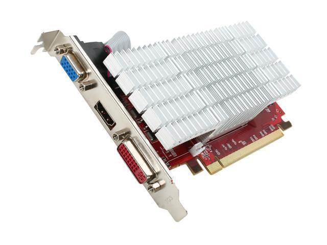 MSI Radeon HD 4350 DirectX 10.1 R4350-MD512H/D3 Video Card