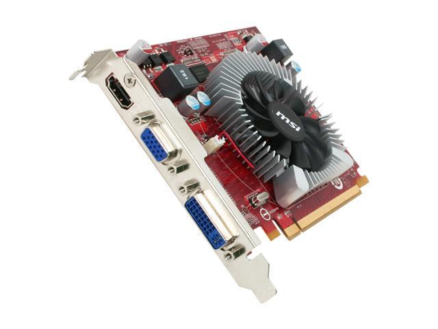 MSI Radeon HD 5570 DirectX 11 VR5570-MD1G Video Card