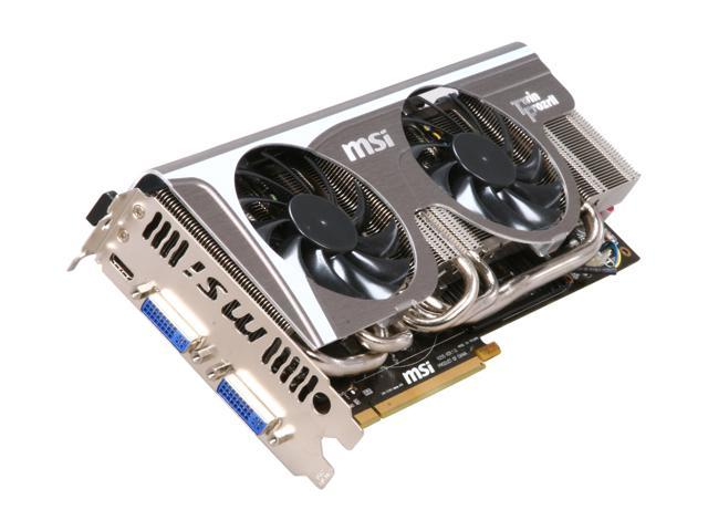 MSI GeForce GTX 570 (Fermi) DirectX 11 N570GTX Twin Frozr II OC Video Card