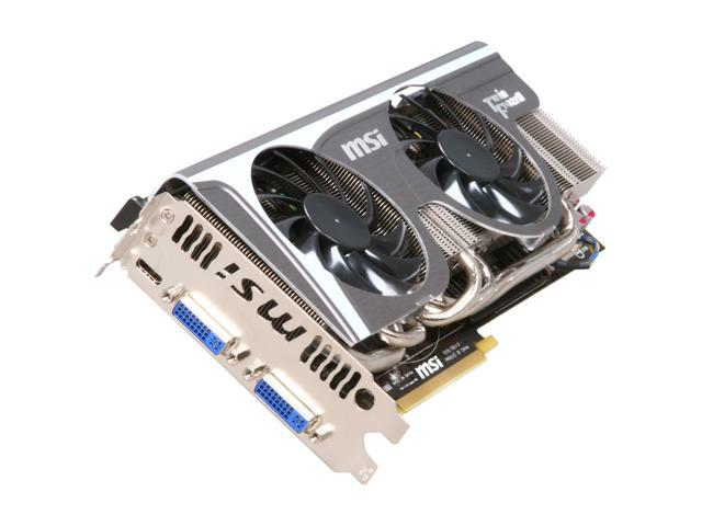 MSI GeForce GTX 580 (Fermi) DirectX 11 N580GTX Twin Frozr II/OC Video Card