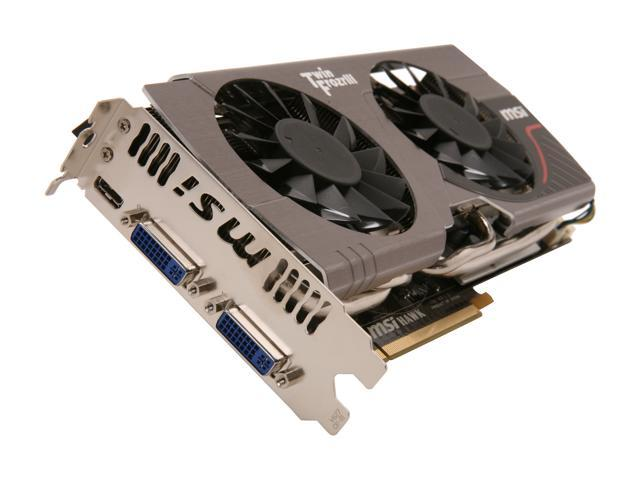 MSI GeForce GTX 560 Ti (Fermi) DirectX 11 N560GTX-Ti Hawk Video Card