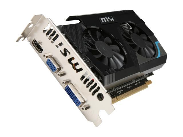 MSI Radeon HD 6670 DirectX 11 R6670-MD1GD5 Video Card