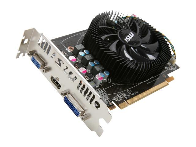 MSI Radeon HD 6770 DirectX 11 R6770-MD1GD5 1GB 128-Bit GDDR5 PCI Express 2.1 x16 HDCP Ready Video Card