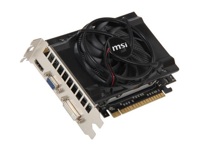 MSI GeForce GTS 450 (Fermi) DirectX 11 N450GTS-MD2GD3 Video Card