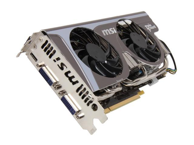 MSI GeForce GTX 560 Ti (Fermi) DirectX 11 N560GTX-Ti Twin Frozr II 2GD5/OC Video Card