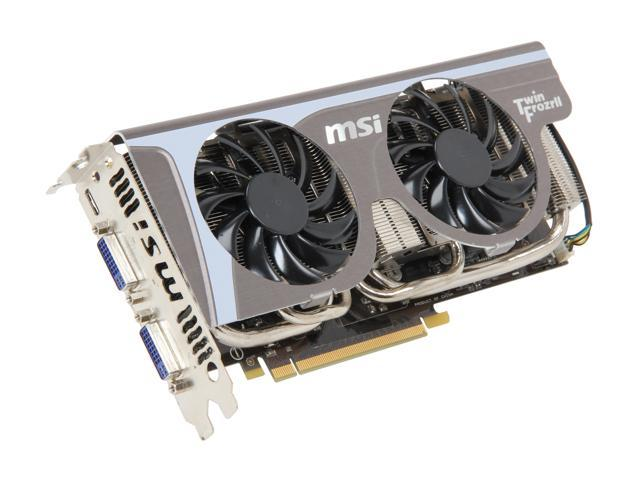 MSI GeForce GTX 560 Ti (Fermi) DirectX 11 N560GTX-Ti Twin Frozr II/OC Video Card