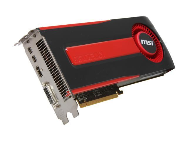 MSI Radeon HD 7970 DirectX 11 R7970-2PMD3GD5 Video Card