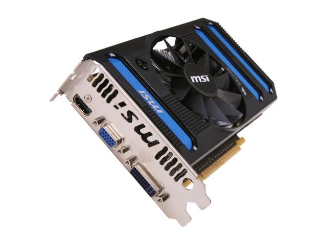 MSI GeForce GTX 550 Ti (Fermi) DirectX 11 N550GTX-Ti-MD1GD5 1GB 192-Bit GDDR5 PCI Express 2.0 x16 HDCP Ready SLI Support Video Card