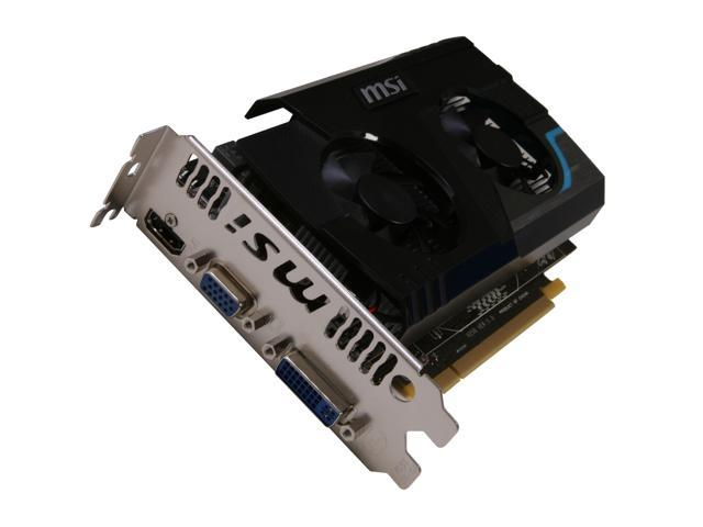 MSI Radeon HD 6670 DirectX 11 R6670-MD1GD3 1GB 128-Bit DDR3 PCI Express 2.1 x16 HDCP Ready Video Card