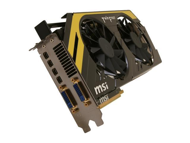 MSI Radeon HD 7970 DirectX 11 R7970 PE 3GD5 Video Card