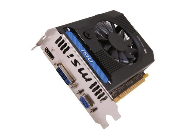 MSI GeForce GT 640 DirectX 11 N640GT-MD1GD3 Video Card