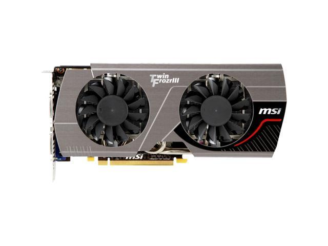 MSI N560GTX-448 Twin Frozr III Power Edition/OC GeForce GTX 560 Ti Graphic Card - 750 MHz Core - 1.20 GB GDDR5 SDRAM - PCI Express 2.0 x16